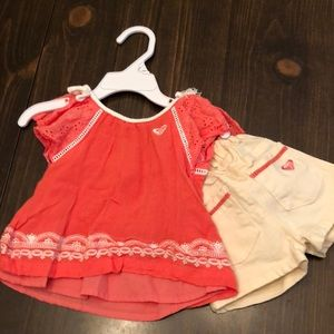 Two piece shorts outfit
